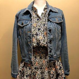 Vintage light denim jacket